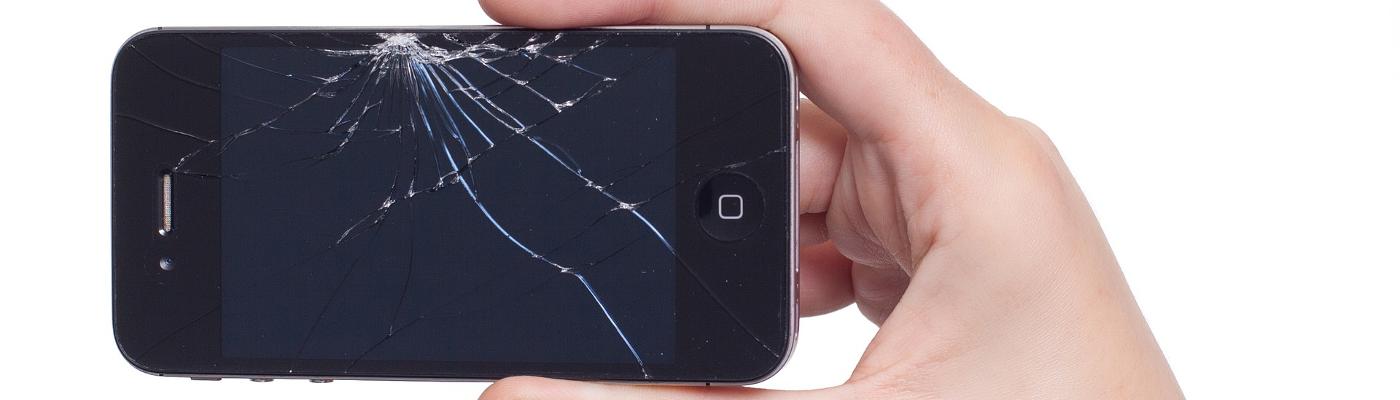 Smartphone kaputt? Displayschaden?